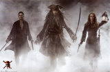 Pirates Of The Caribbean- At World's End Prints