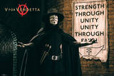 V For Vendetta - Unity Posters