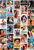Vintage Style Italian Film Poster Collage Posters