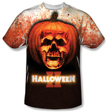 Halloween II - Pumpkin Skull Shirts