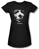 Juniors: Halloween II - Masked Kitty T-shirts