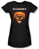 Juniors: Halloween II - Pumpkin Shell T-shirts