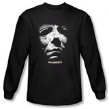 Long Sleeve: Halloween II - Masked Kitty T-Shirt