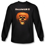 Long Sleeve: Halloween II - Pumpkin Shell Shirts