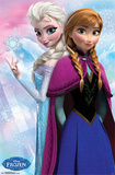 Frozen - Anna & Snow Queen Elsa Movie Poster Prints