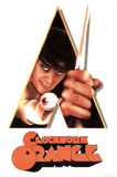 A Clockwork Orange Movie Peering Through Triangle Poster Print Posters