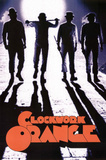 A Clockwork Orange Movie Subway Tunnel Silhouette Poster Print Prints