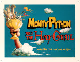 Python Holy And The Holy Grail Tin Sign