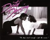Dirty Dancing Movie Patrick Swayze Dancing Jennifer Grey 80s Poster Print Prints