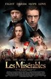 Les Miserables (Hugh Jackman, Russell Crow, Anne Hathaway) Movie Poster Print