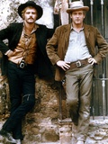 Butch Cassidy and the Sundance Kid 1969 Directed by George Roy H Robert Redford / Paul Newman Photographic Print