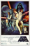 Star Wars - Episode IV New Hope - Classic Movie Poster Photo
